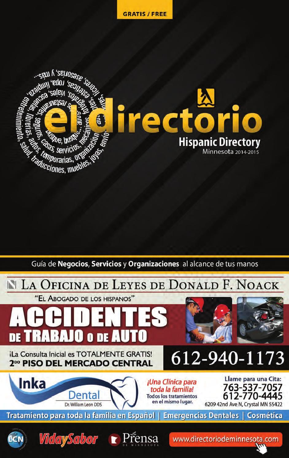 El Directorio MHD - 2014 2015 by Latino Communications Network LLC ...