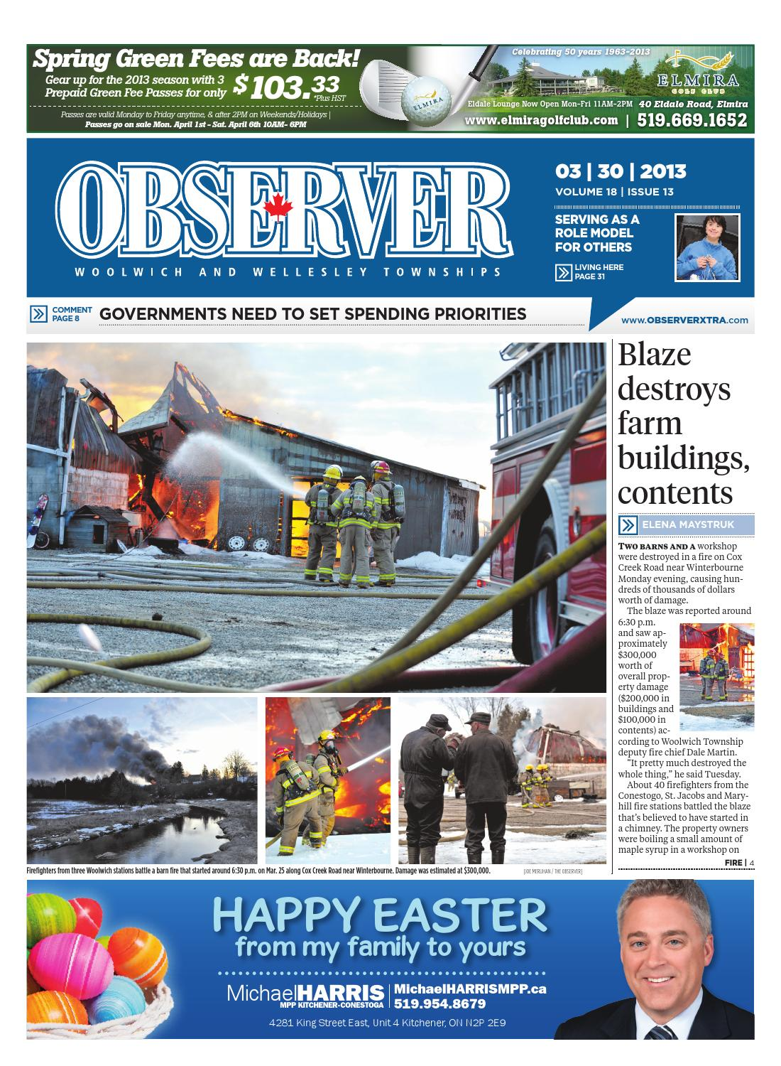 March 30, 2013 by Woolwich Observer - issuu