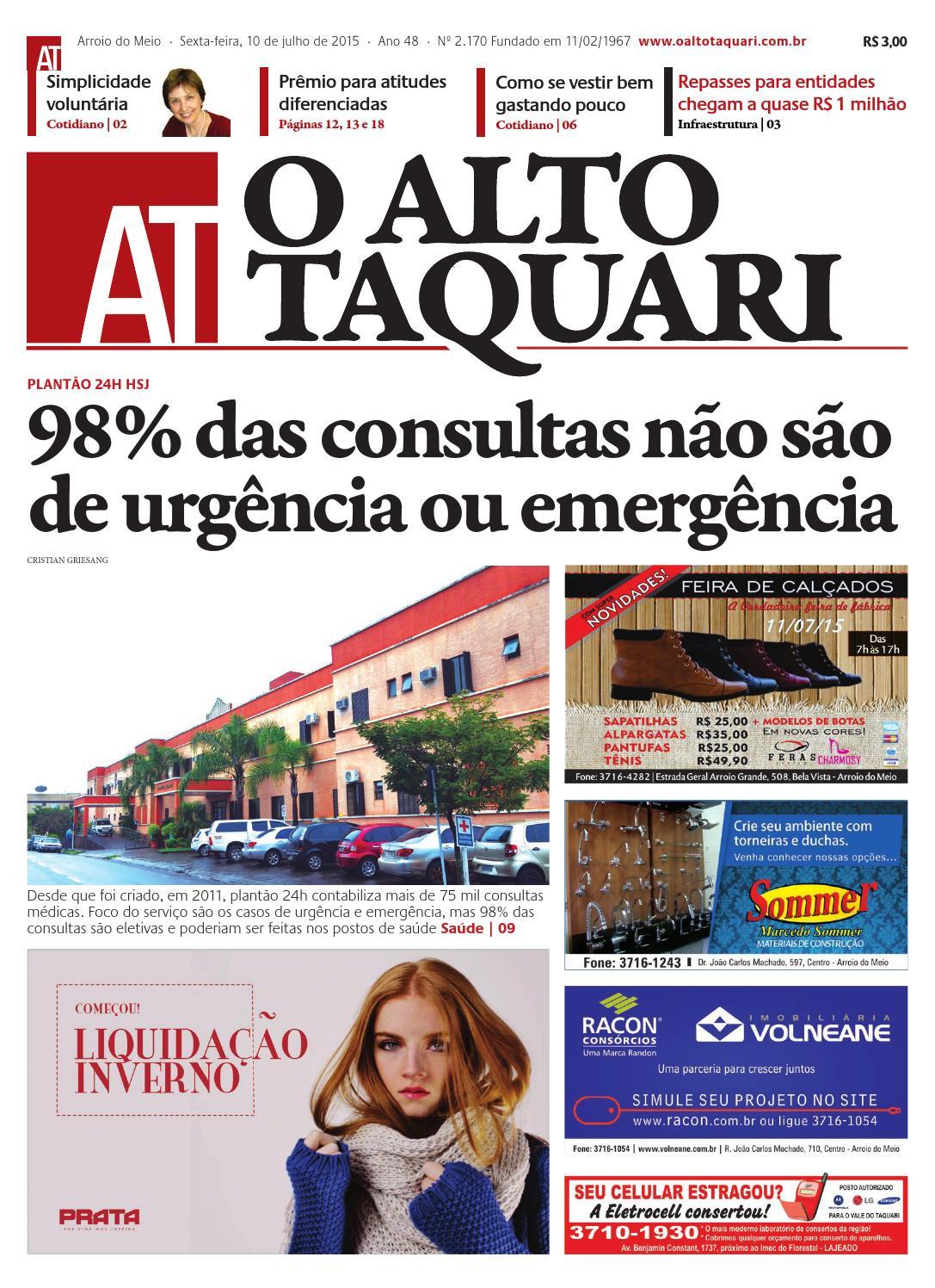 31d726edc Jornal O Alto Taquari - 10 de julho de 2015 by Jornal O Alto Taquari - issuu