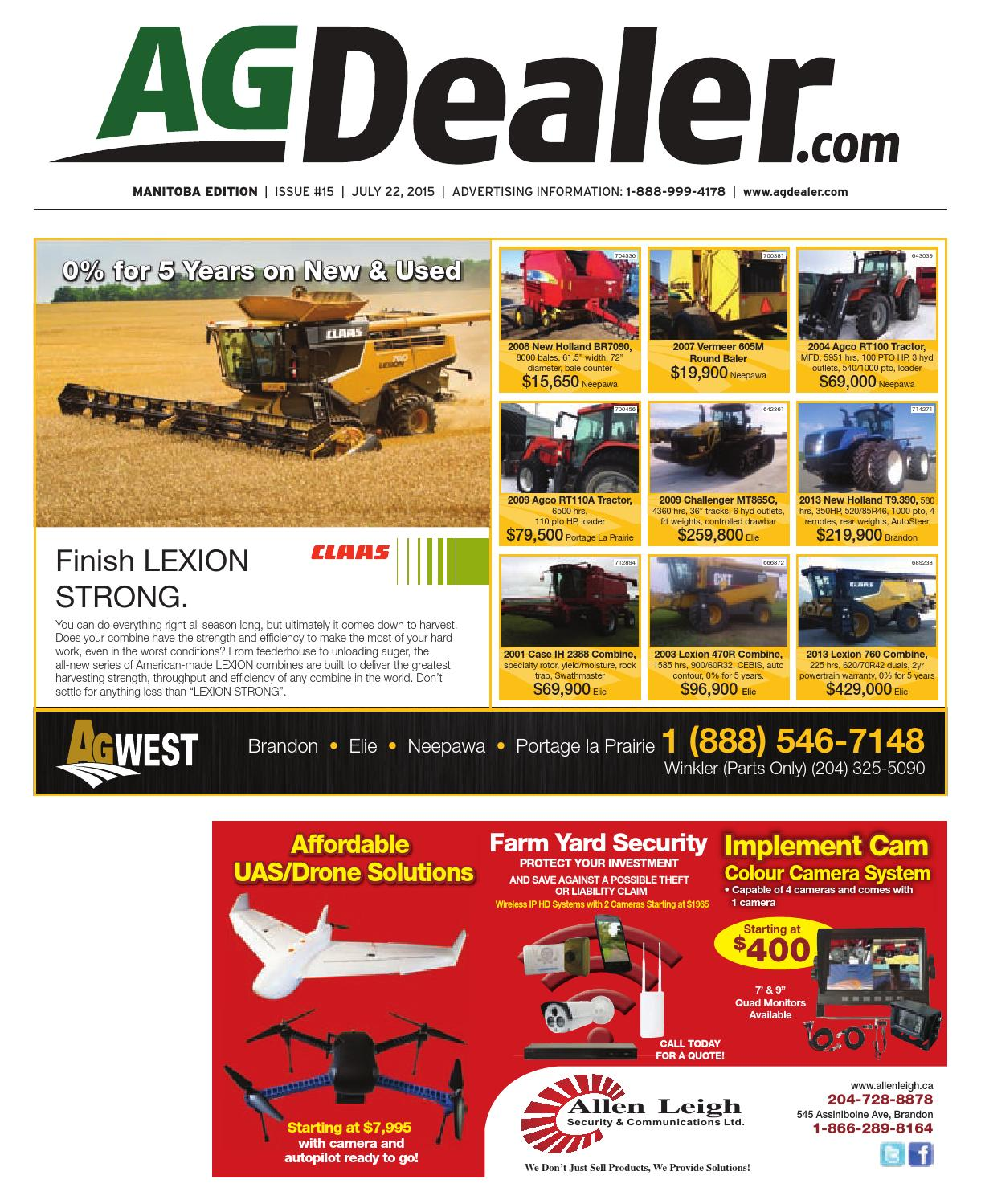 Wheel & Deal Manitoba, July 22, 2015 by Farm Business ... on