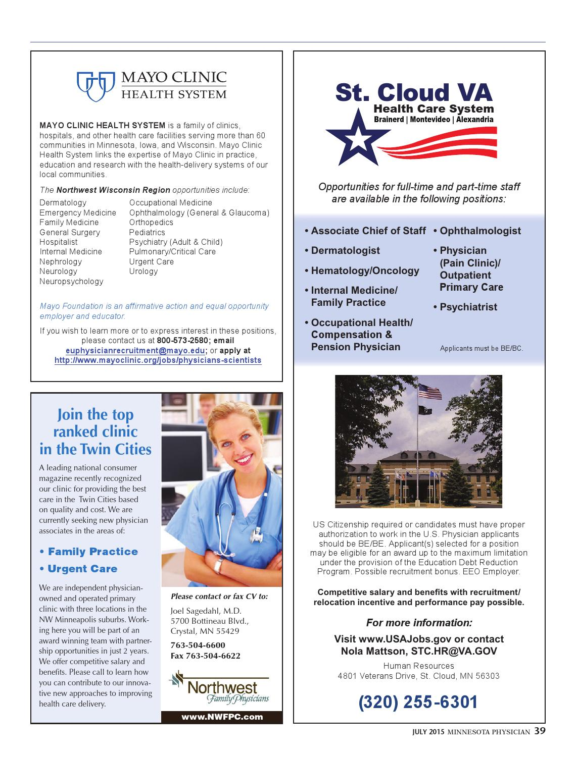 Minnesota Physician July 2015 by Minnesota Physician