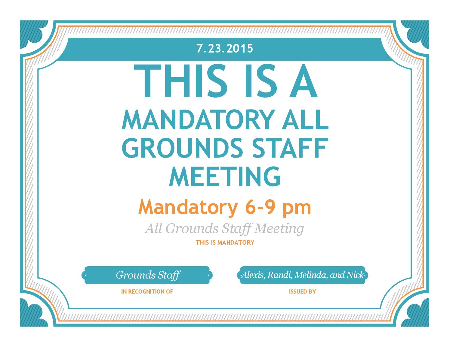 july meeting by ssa grounds