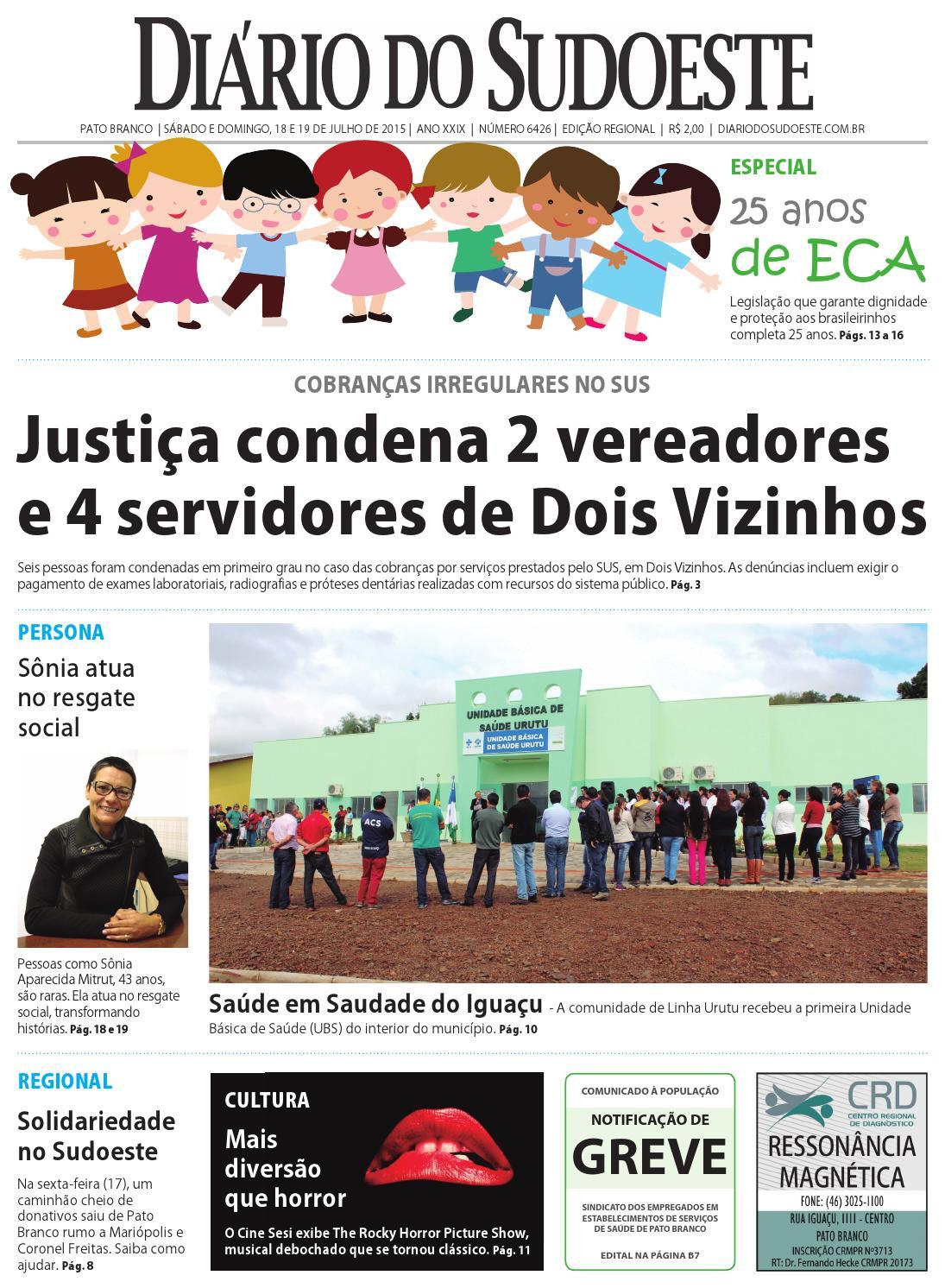 a87656aa21 Diário do sudoeste 18 e 19 de julho de 2015 ed 6426 by Diário do Sudoeste -  issuu