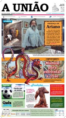 d98dc3d8494 Jornal A União - 19 07 2015 by Jornal A União - issuu