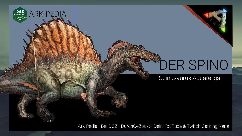 Ark Survival Dossier Spinosaurus Deu Ger Ark Pedia By Dgz