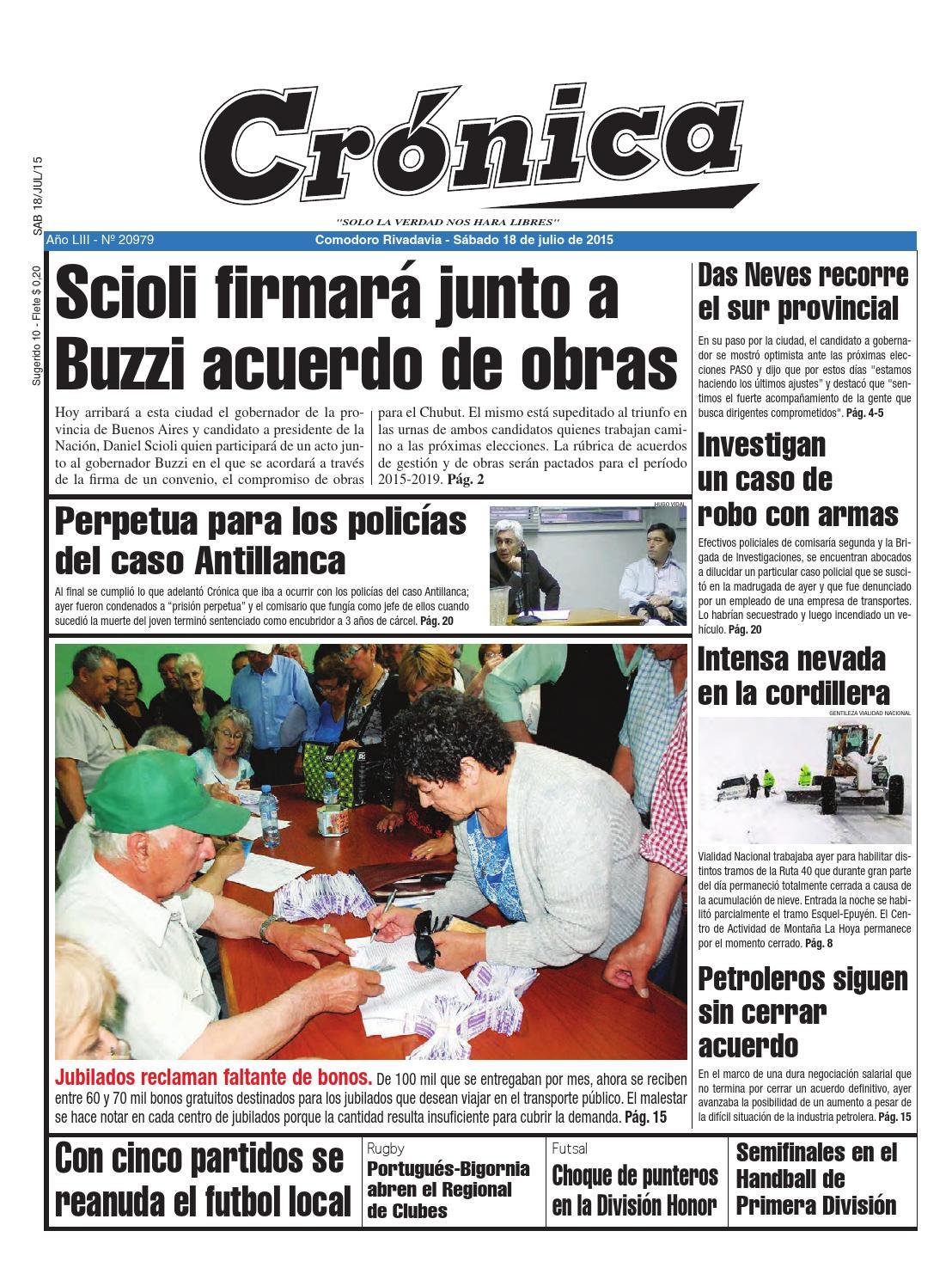 C43e7554ff364d1a554d58a7957158aa by Diario Crónica - issuu
