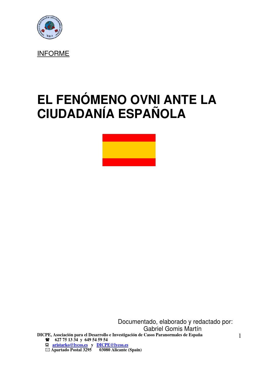 63899092 el fenomeno ovni ante la ciudadania espanola by Ricardo ...