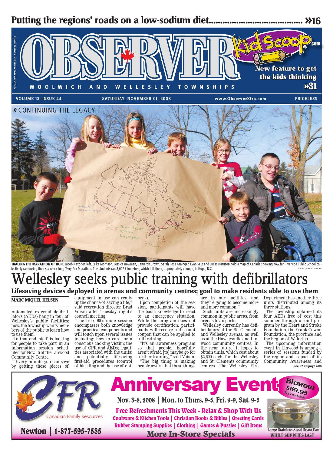 november 1 2008 by woolwich observer issuu