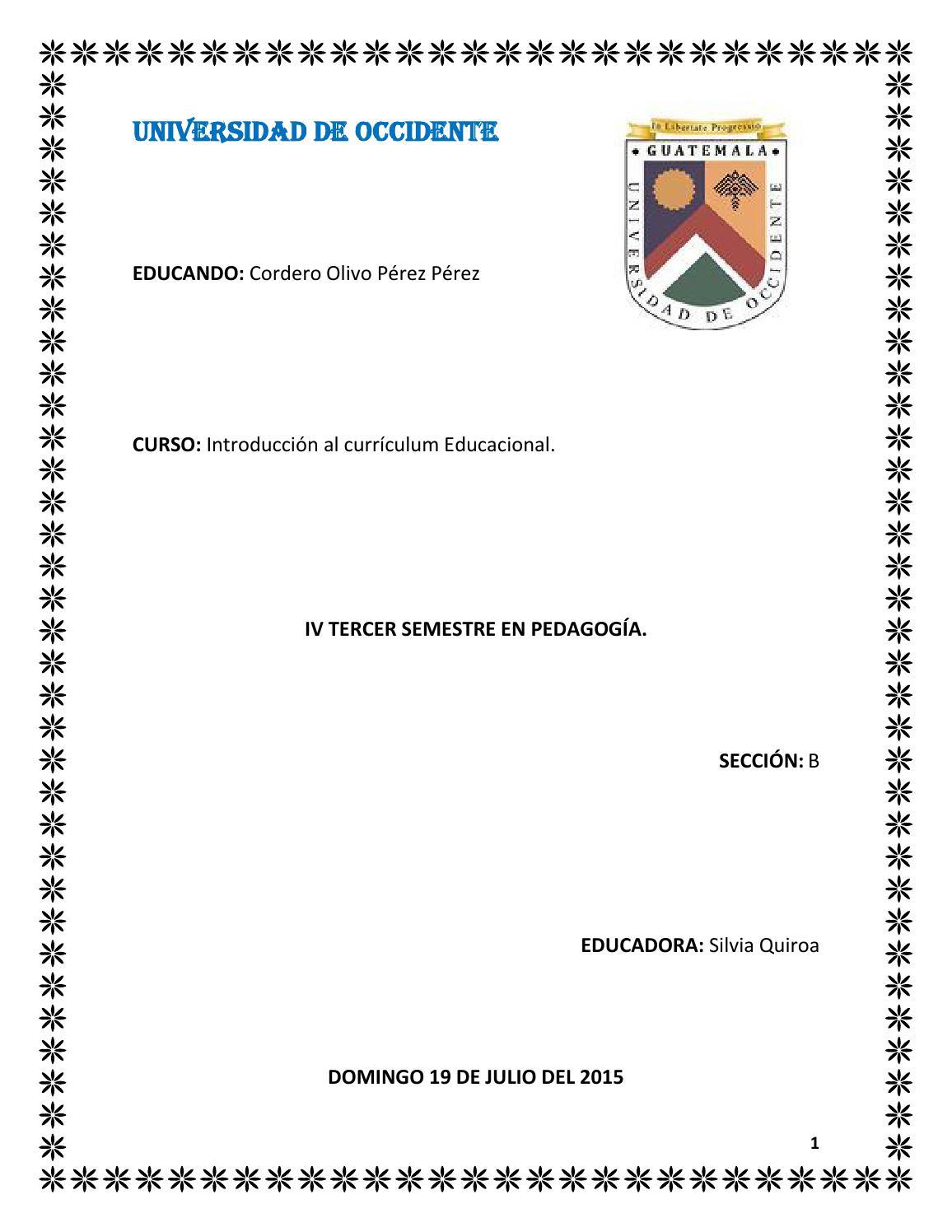 Los fundamentos del curriculum 2 by Perez Perez Olivo - issuu