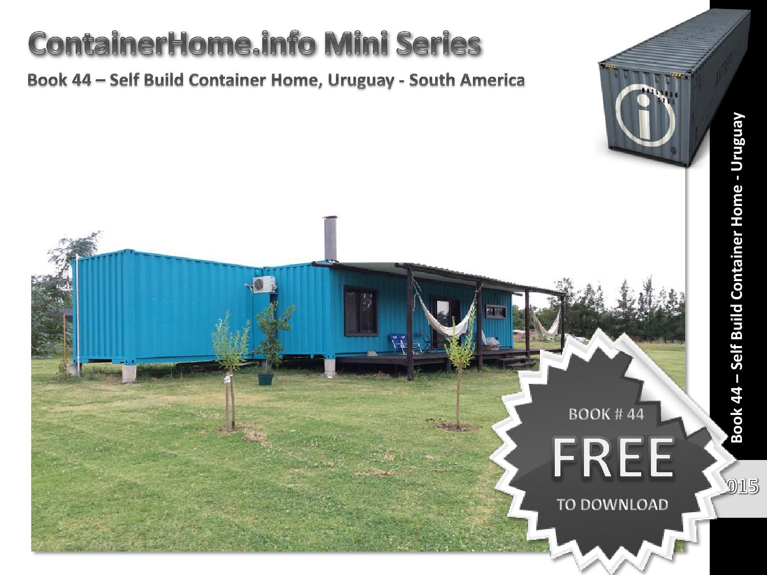 Shipping Container Homes Book 44 by shippingcontainerhomes