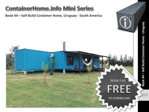 Container home picture book.