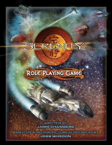 Serenity serenity role playing game