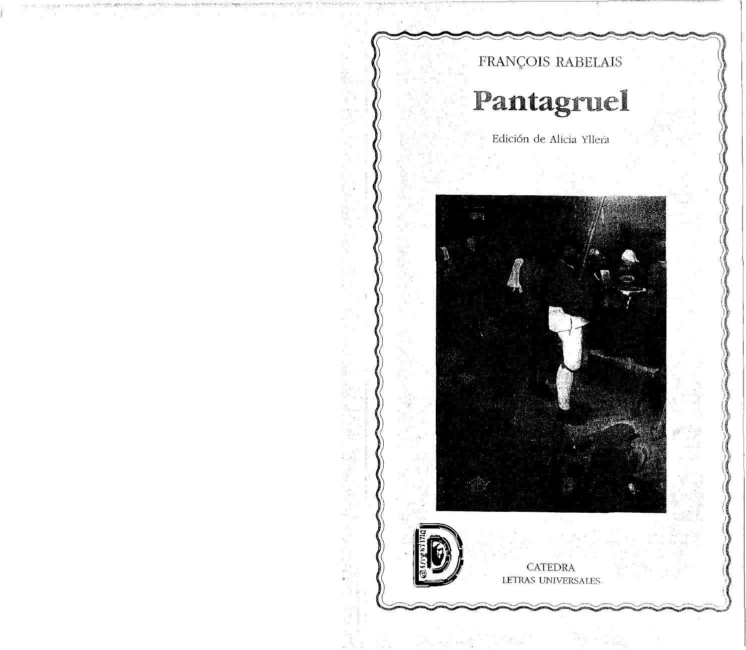 Issuu Dm PantagruelcatedraBy Rabelais Francois Lmygwlyna Fc1KJ3Tl