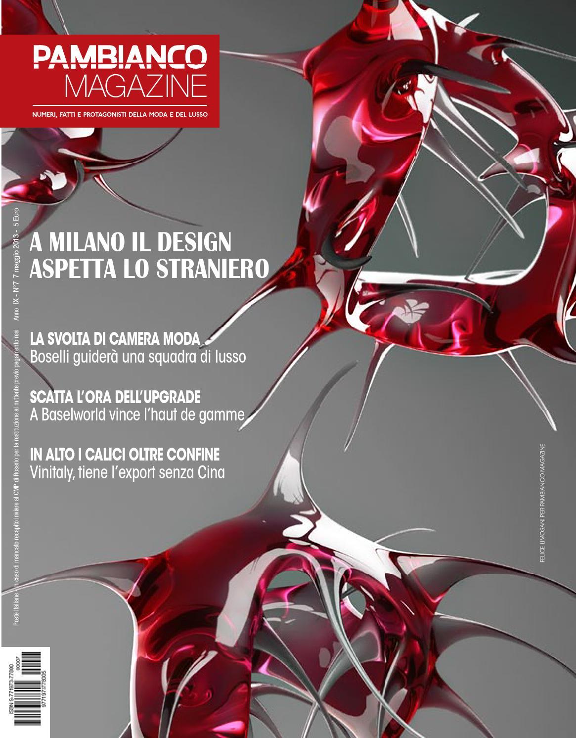 Pambianco Magazine N.7 IX by Pambianconews issuu