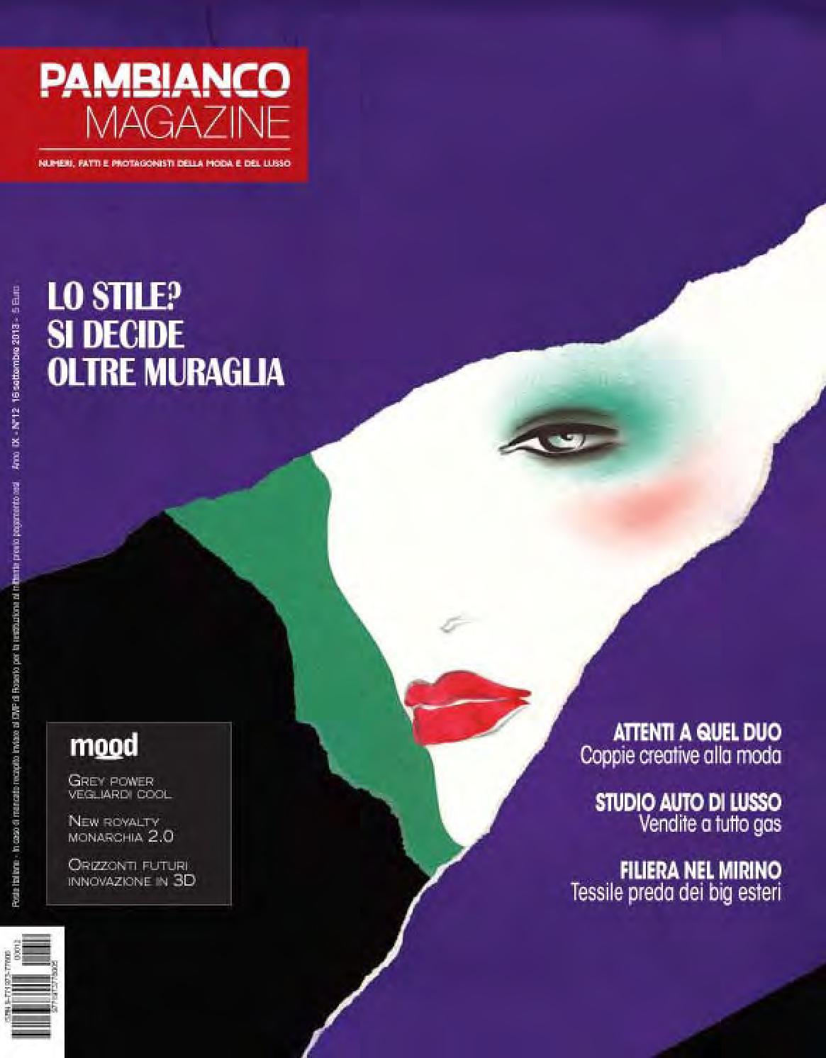 Pambianco Magazine N.12 IX by Pambianconews issuu