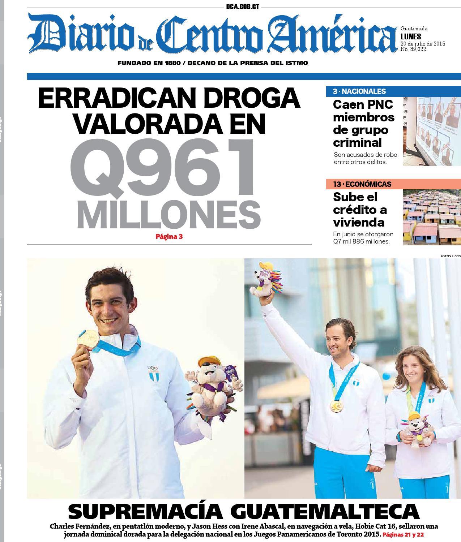 Diario de Centro América 20 de julio de 2015 by Diario de Centro ...