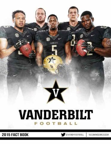 2015 Vanderbilt Football Fact Book by Vanderbilt Commodores - issuu 7a21a815195