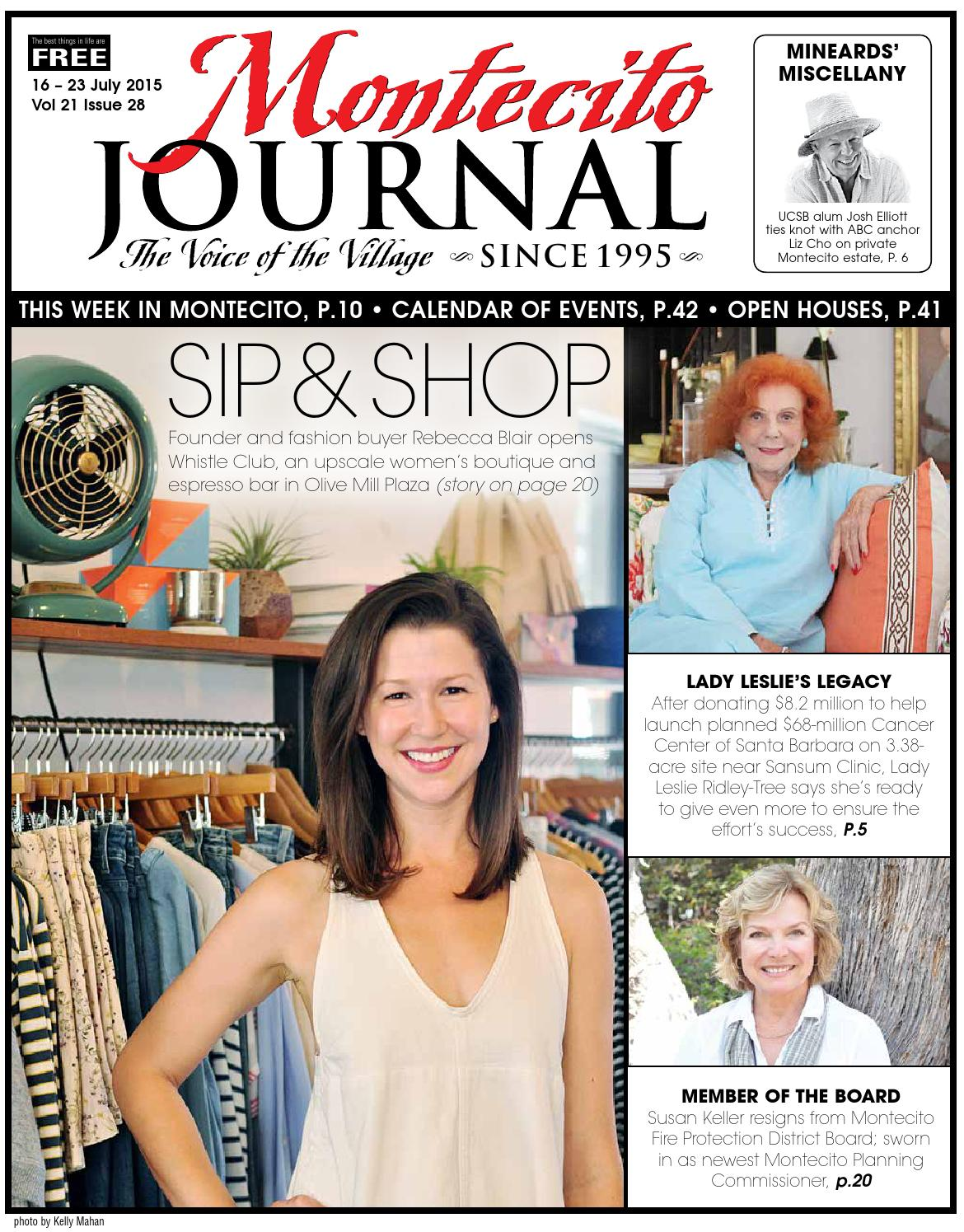 Sip Shop By Montecito Journal