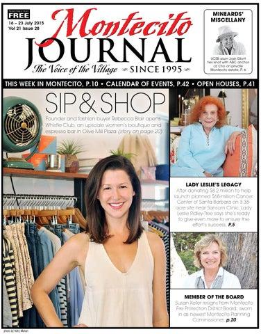 Sip & Geschäft Geschäft & by Montecito Journal issuu ada358
