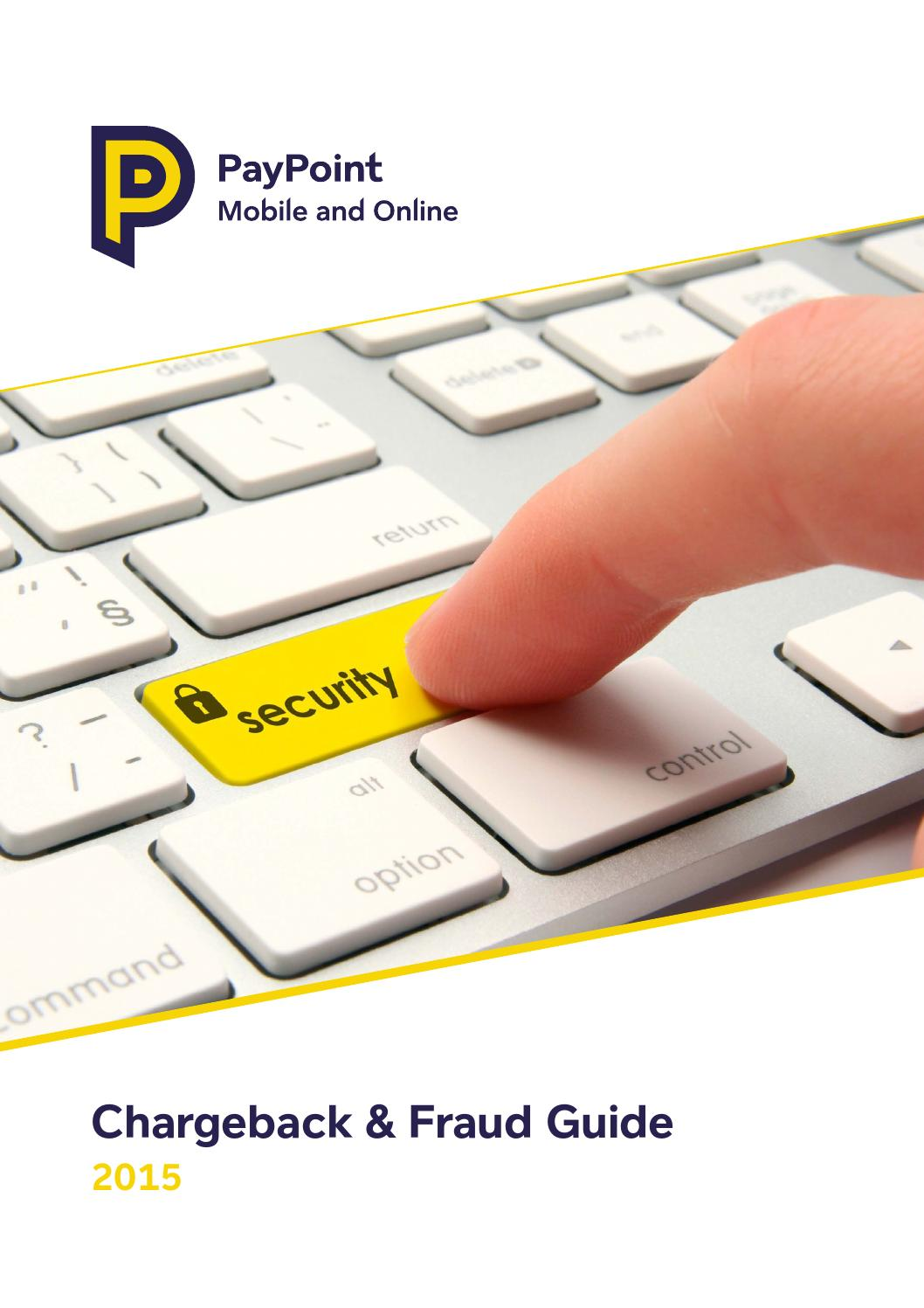 Pay Point - Chargeback & Fraud Guide by Anatol Ursu - issuu