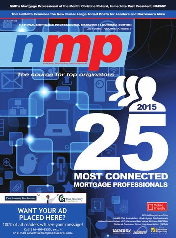 Louisiana mortgage professional magazine july 2015 by nmp media corp page 1 fandeluxe Images