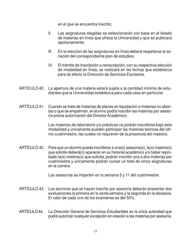Reglamento Alumnos Licenciatura Unitec by Universidad Tecnológica ...