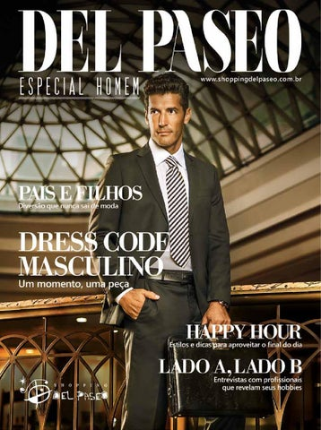 ea7d854eb4d1f4 Especial Homem 2015 by Shopping Del Paseo - issuu