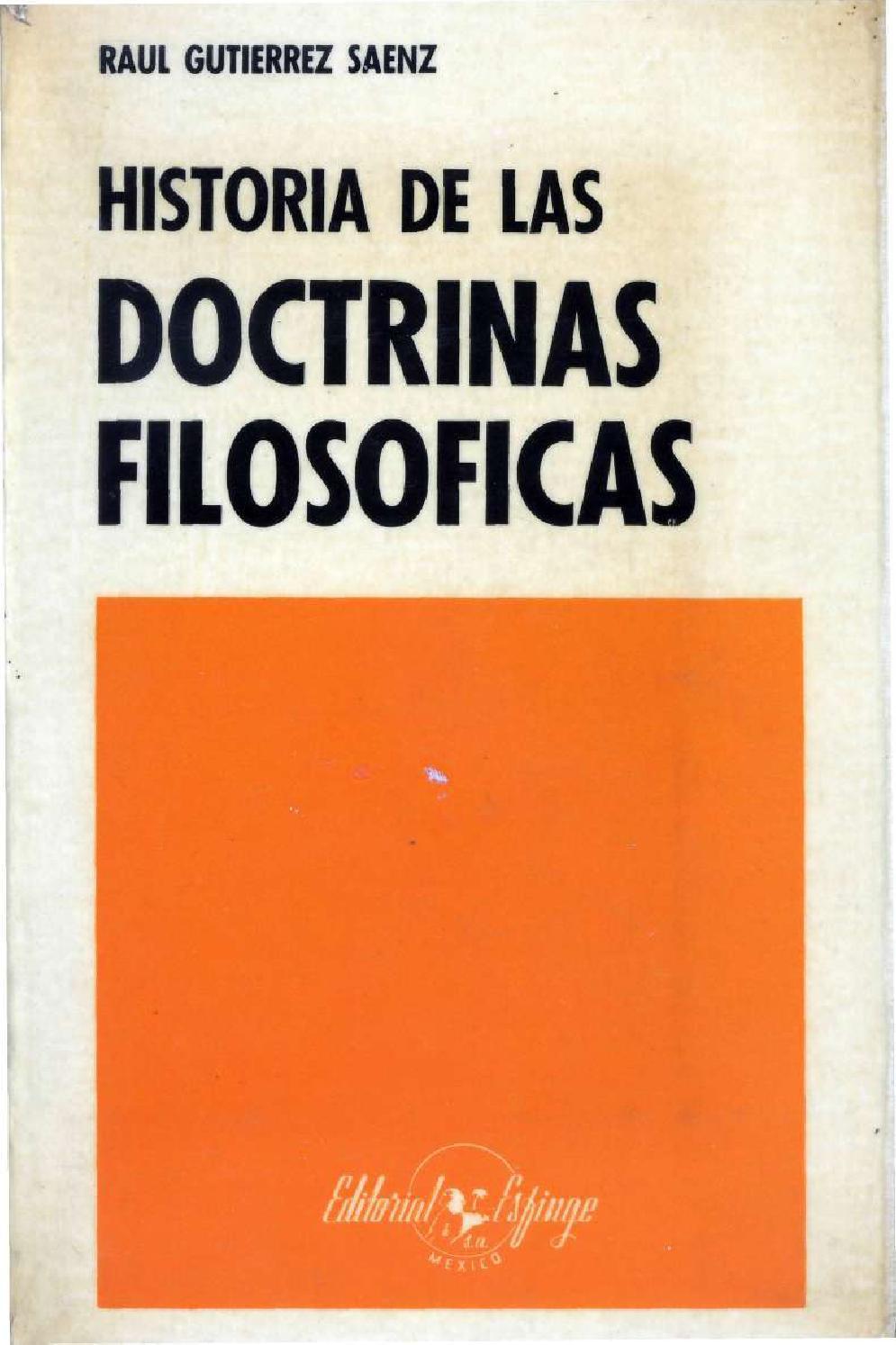 Historia De Las Doctrinas Filosoficas 140311202618 Phpapp01