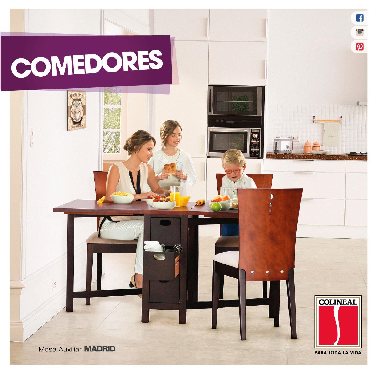 Catálogo de Comedores - Panamá by Colineal - issuu