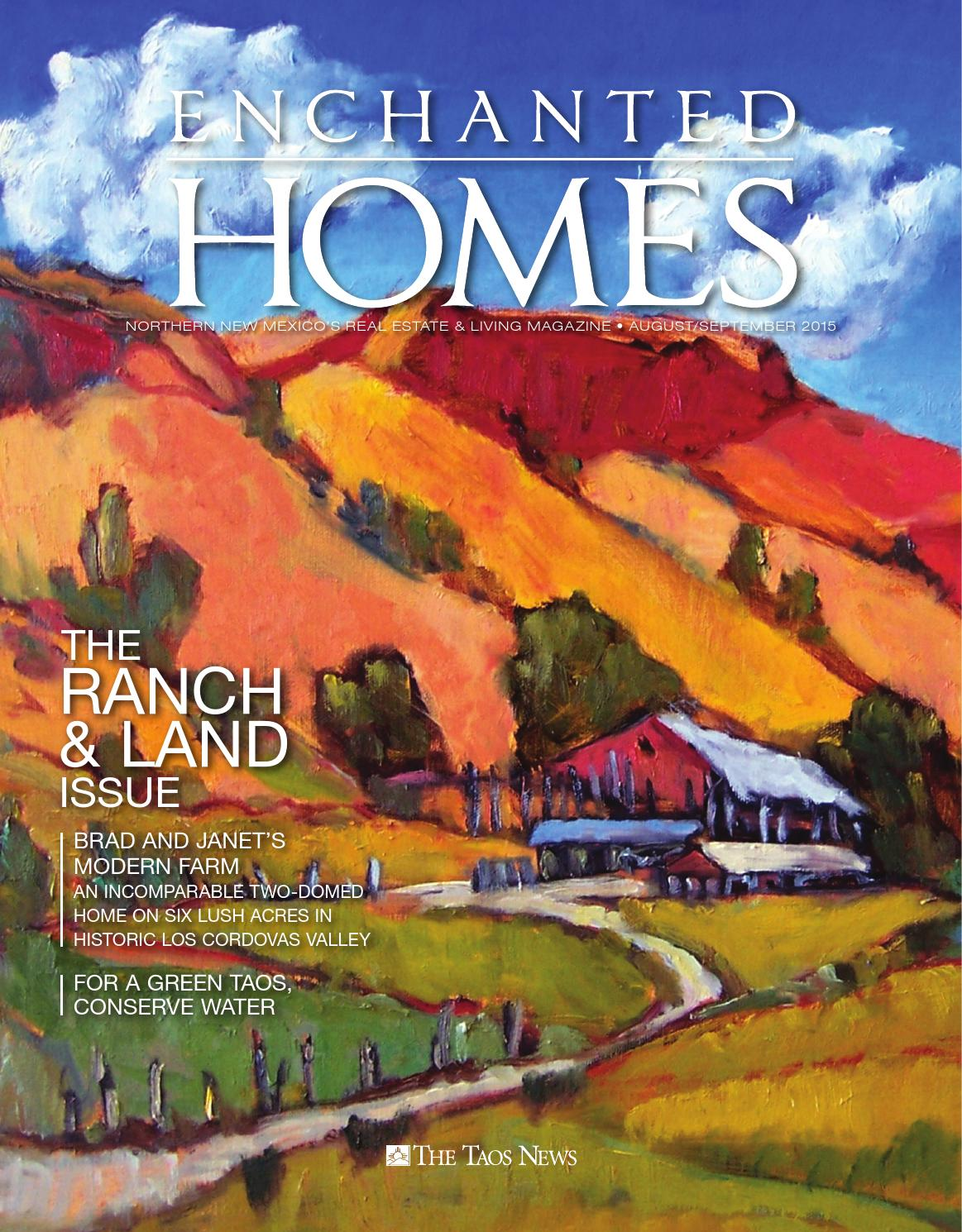 Enchanted homes augustseptember 2015 by the taos news issuu publicscrutiny Images