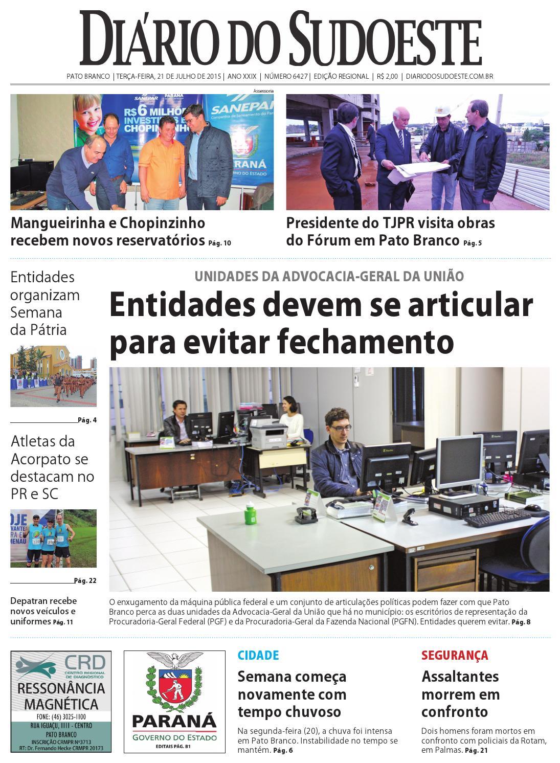Diário do sudoeste 21 de julho de 2015 ed 6427 by Diário do Sudoeste - issuu 4529338bd58a6