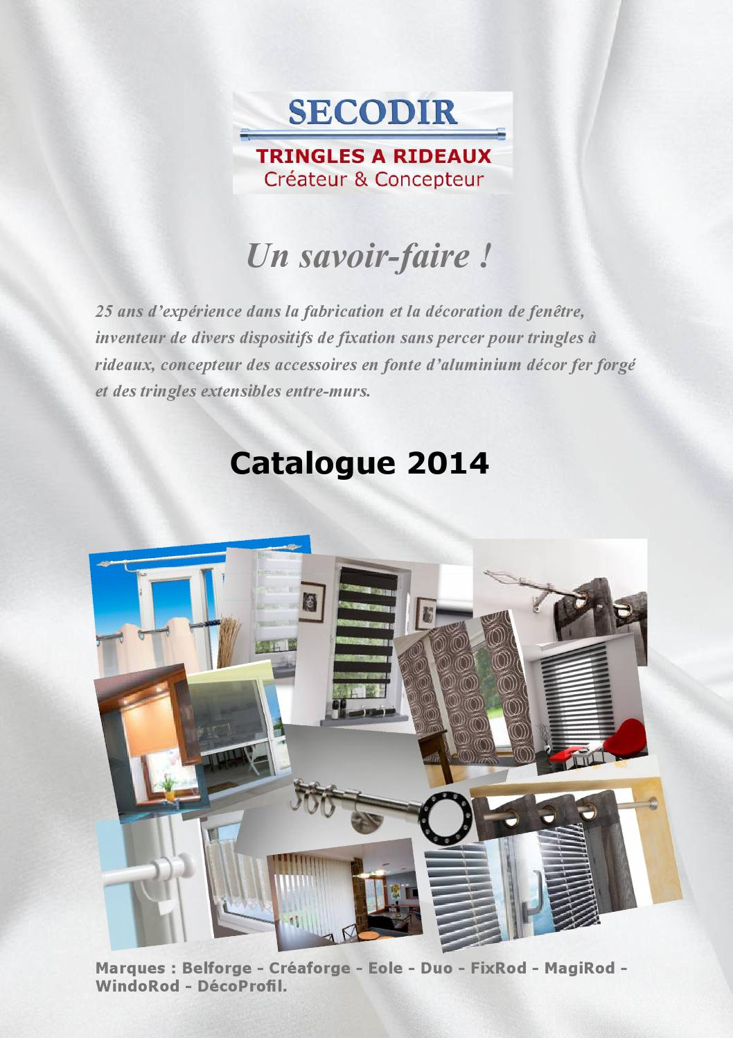 Tringle Voilage Sans Percer catalogue secodir v2 2014(1) (1)secodir sarl - issuu