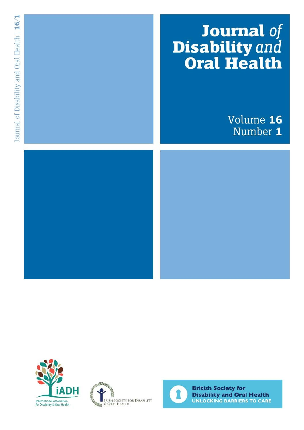 The Oral Health Atlas By Myriad Editions Issuu 2013 Ford Focus Speaker Wiring Diagram Bsdoh Journal Of Disability A4