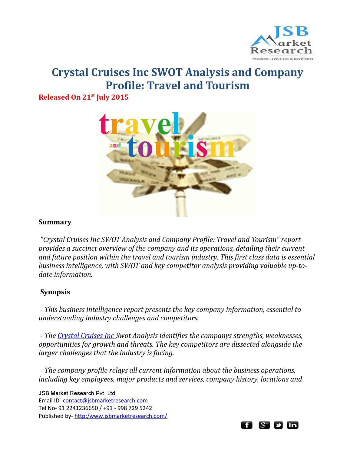 crystal cruises inc swot analysis and Great article for fresher to understand the swot analysis how about strategic planning swot template which evaluates the internal and external factors in the work environment that can be useful or harmful to your project, or company.