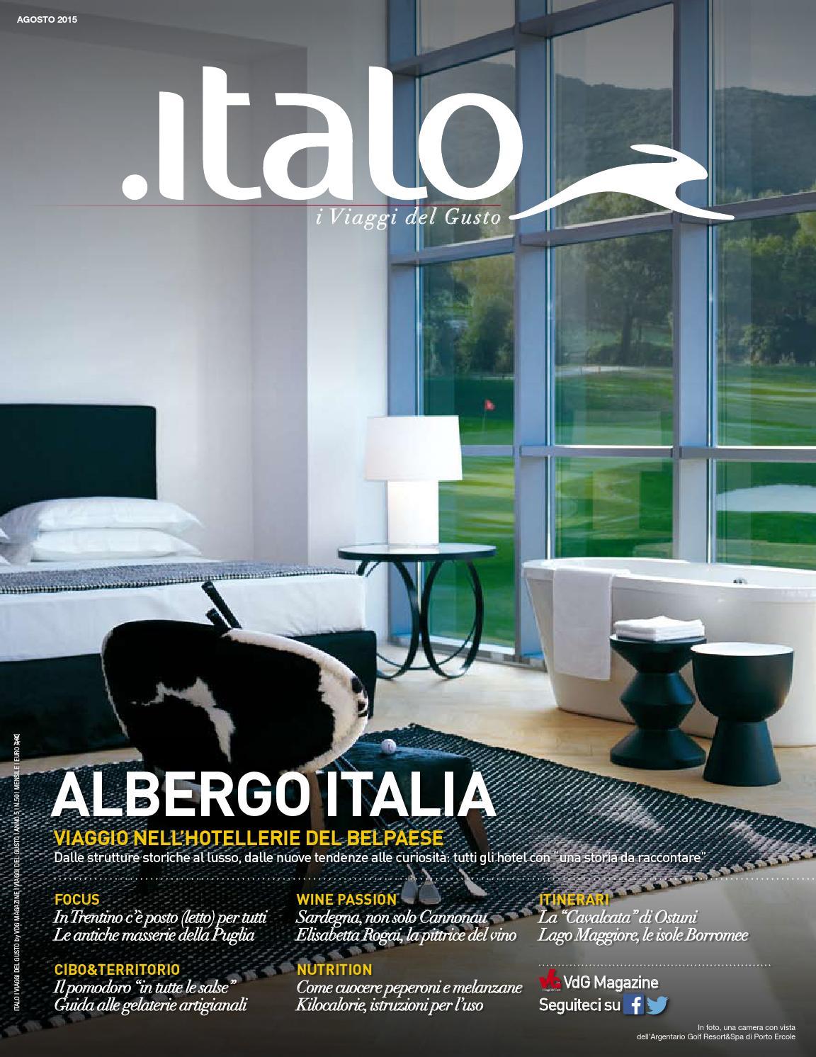 Italo i Viaggi del Gusto agosto 2015 by vdgmagazine - issuu 7bc214558b61