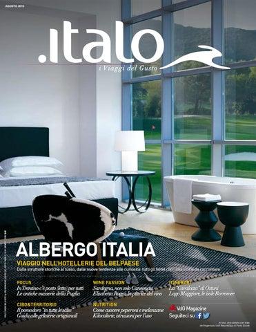 Italo I Viaggi Del Gusto Agosto 2015 By Vdgmagazine Issuu