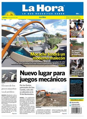 Los Ríos 21 julio 2015 by Diario La Hora Ecuador - issuu 0fc517d6294