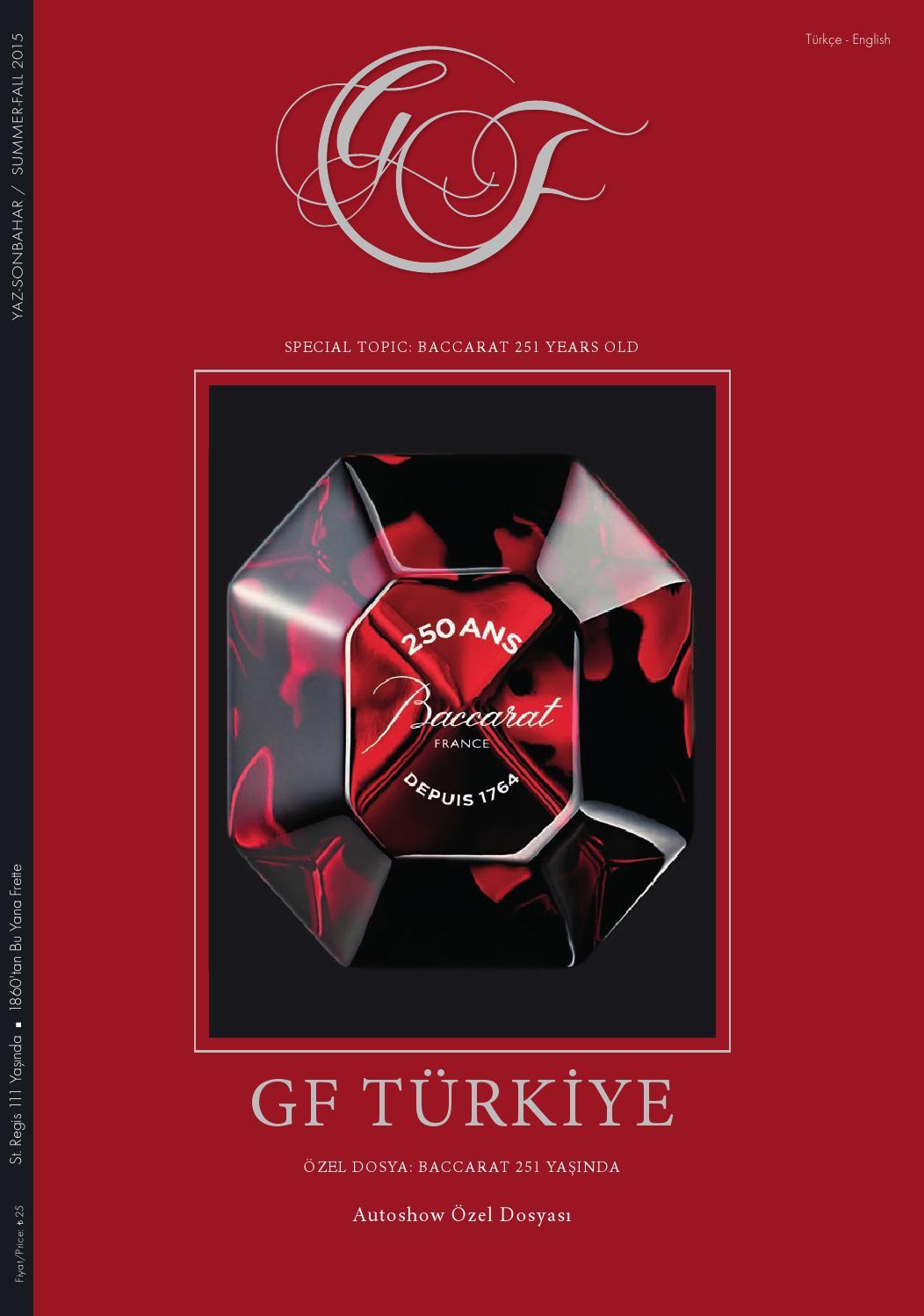 Gf Edition Turkiye For Connaisseurs Summerfall 2015 By Gf Luxury