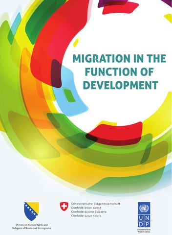 Migration In The Function Of Development By Undp In Bih Issuu