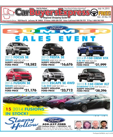 Sleepy Hollow Ford >> Carbuyers Express By Car Buyers Express Gmd Media Inc Issuu
