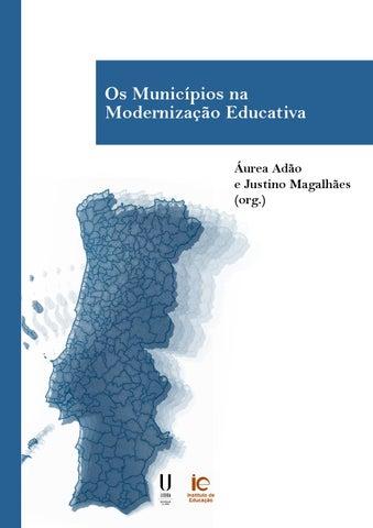 3a4d191a807 Os Municípios na Modernização Educativa by Instituto de Educação da ...