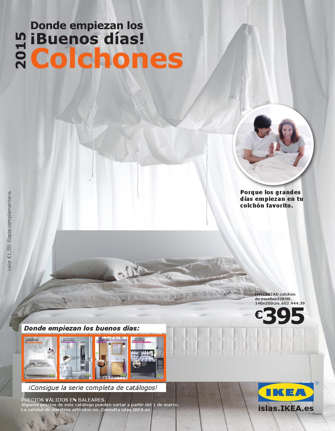 Catalogo ikea colchones 2015 baleares by losdescuentos   issuu