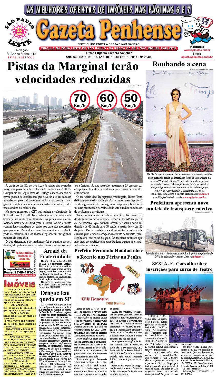 158c924eaca 12 a 18.07.15 - edição 2230 - Gazeta Penhense by Marcelo Cantero - issuu