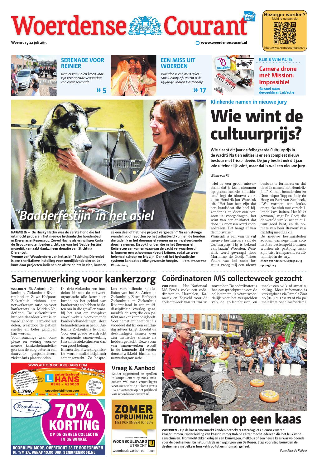 Woerdense Courant Week30 By Wegener Issuu