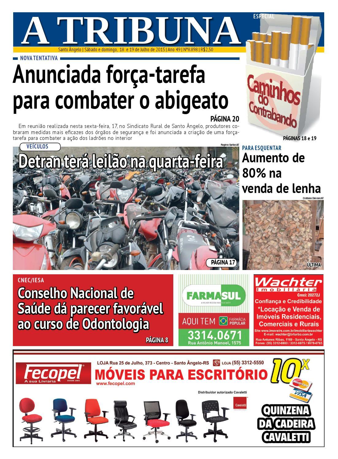 d8711b343b Jornal A Tribuna 18 e 19 de julho 2015 by Jornal A Tribuna - Santo Ângelo -  issuu
