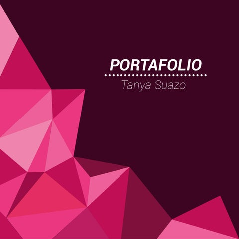 Portafolio dise o gr fico by tanya macarena issuu for Portafolio de diseno grafico pdf