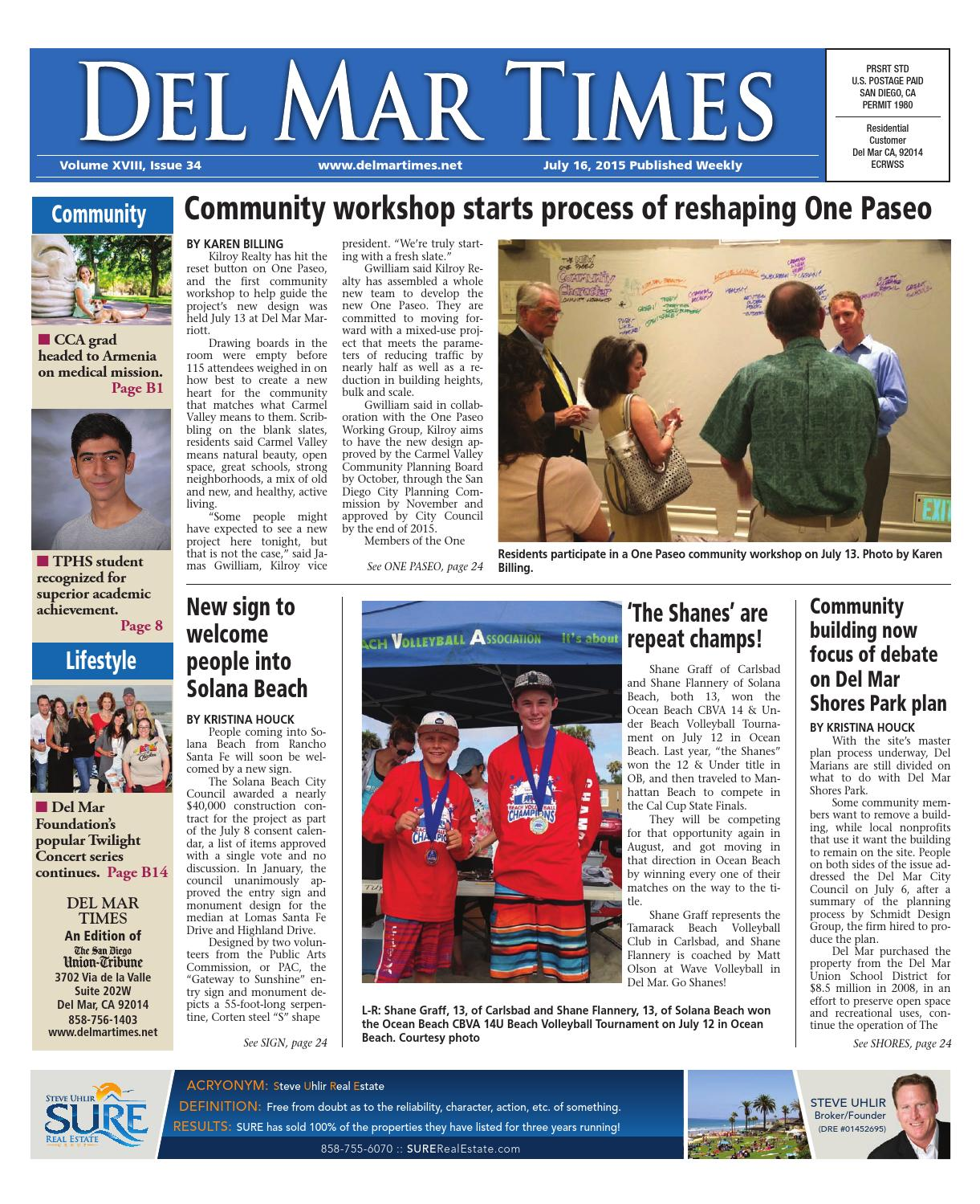 Del mar times 7 16 15 by MainStreet Media - issuu b5c40bc475563