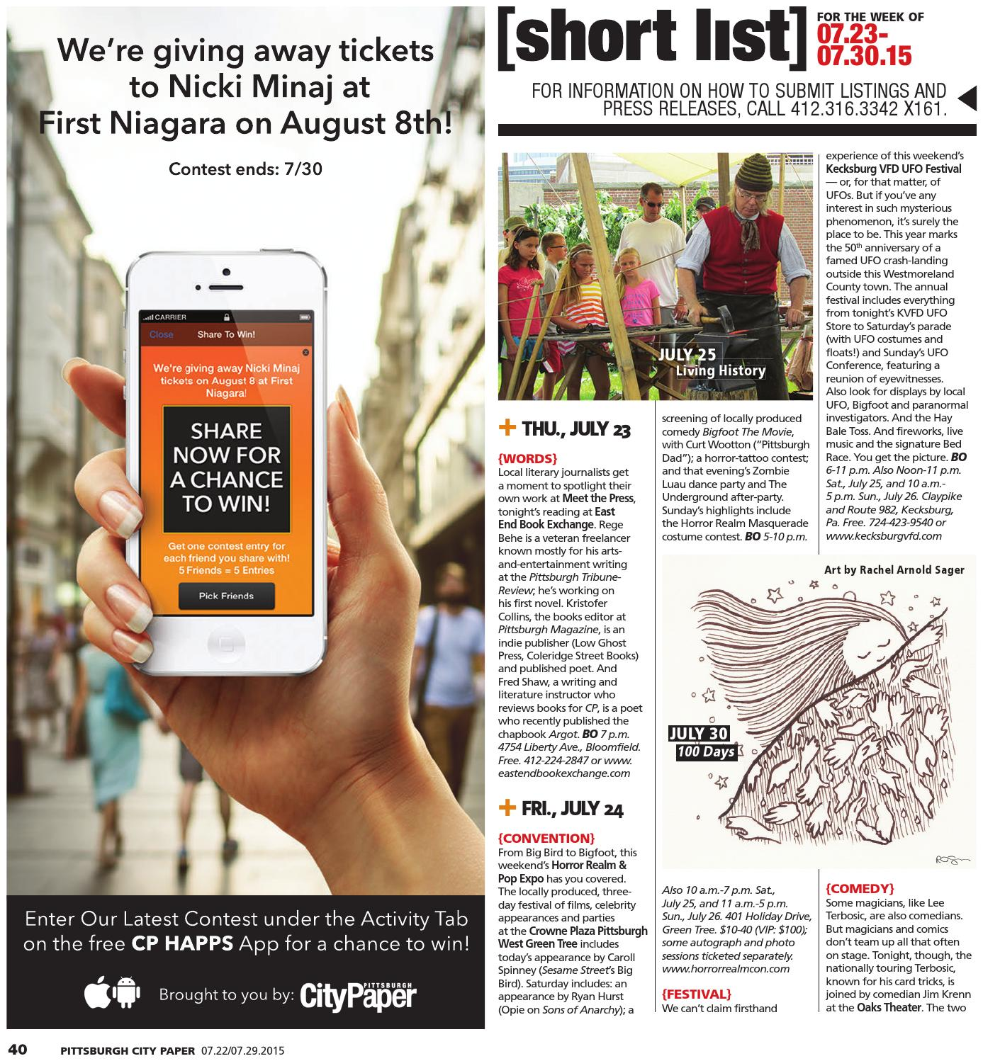 July 22, 2015 by Pittsburgh City Paper - issuu