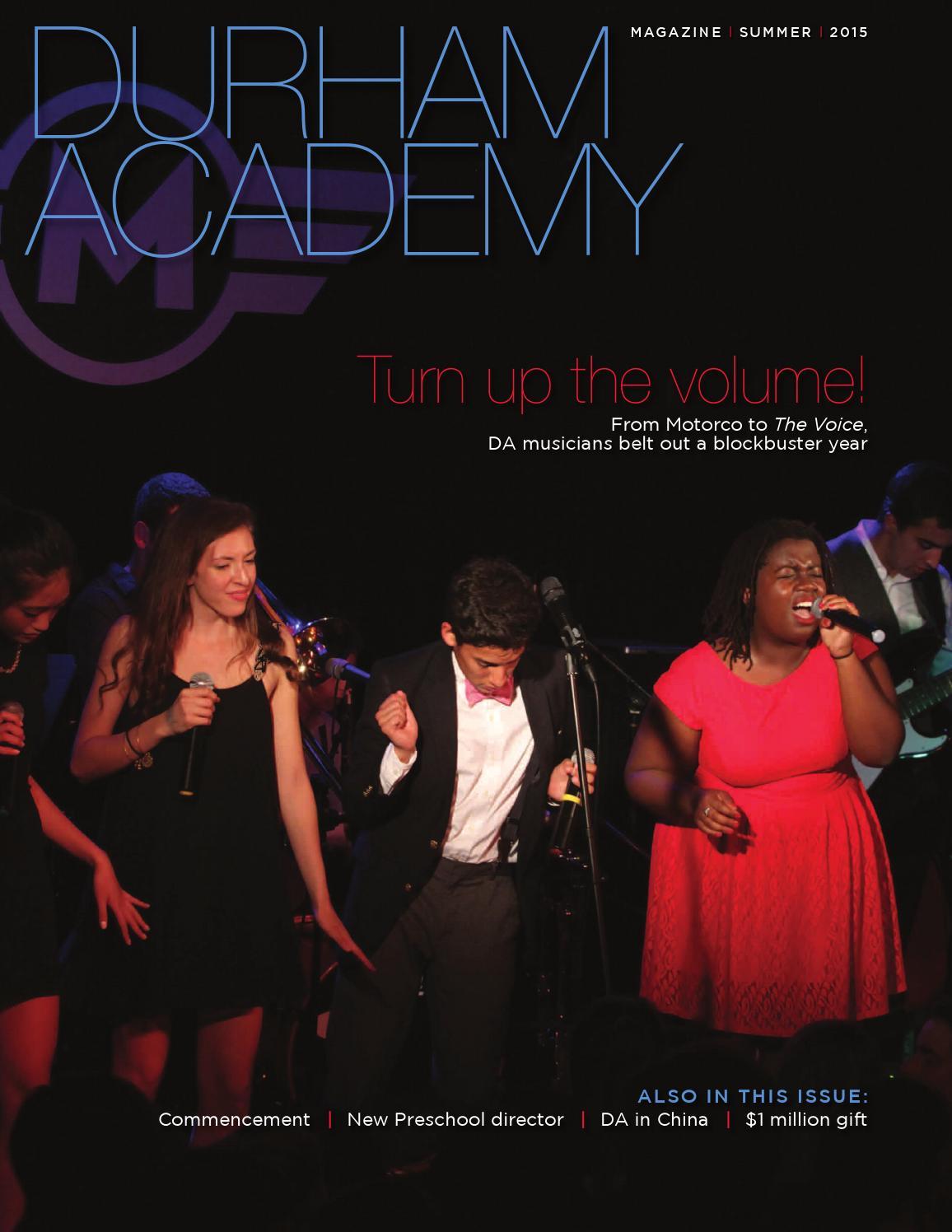 a113a659161ca Durham Academy Magazine - Summer 2015 by Durham Academy - issuu