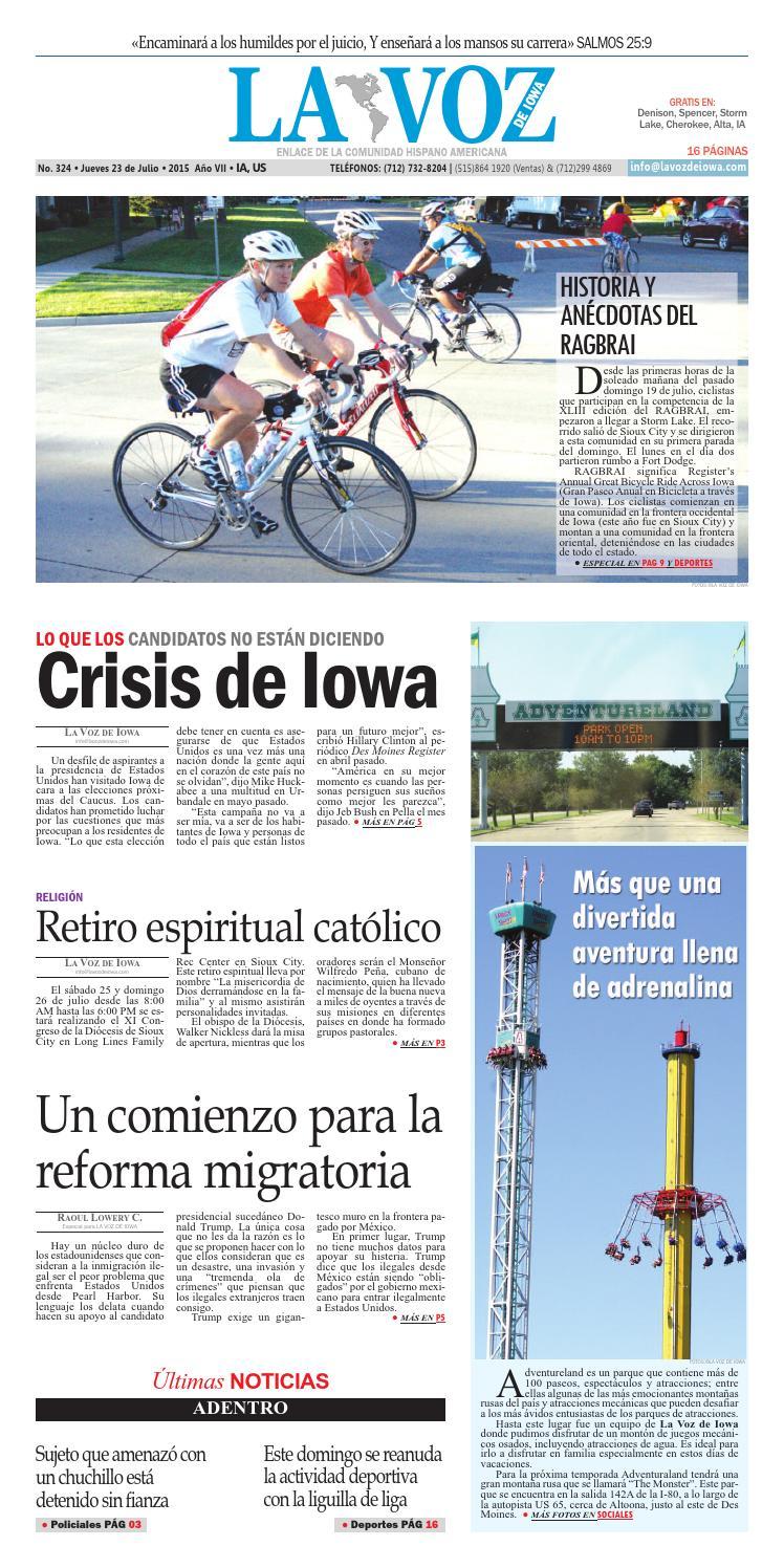 Edicion 324 by La Voz de Iowa - issuu